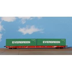 Igra Model 96010048 Sggnss RailCargo Operator Nacco - Evergreen